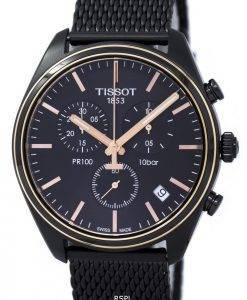Montre Tissot T-Classic PR 100 Chronograph T101.417.23.061.00 T1014172306100 hommes