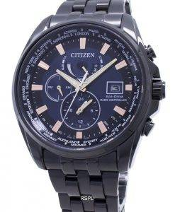 Montre pour homme Citizen Eco-Drive contrôlée par radio AT9039-51L Global Made Japan