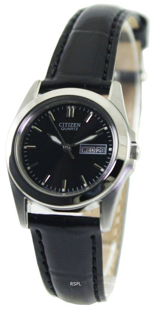 Montre Citizen Quartz Black Dial EQ0560-09E féminin
