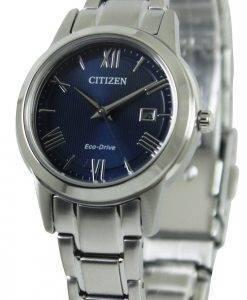 Montre Citizen Eco-Drive Blue Dial FE1081 - 59L féminin