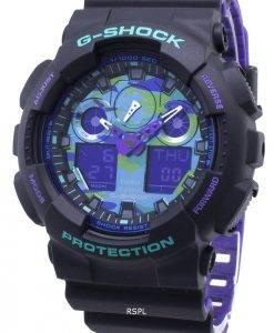 Montre Casio G-Shock GA-100BL-1A GA100BL-1A résistant aux chocs 200M pour homme