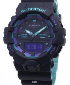 Montre Casio G-Shock GA-800BL-1A GA800BL-1A résistant aux chocs 200M pour homme