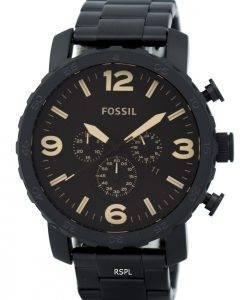 Fossiles Nate chronographe cadran brun JR1356 montre homme