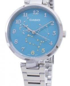 Montre analogique Casio Quartz LTP-E07D-3A LTPE07D-3A pour femme