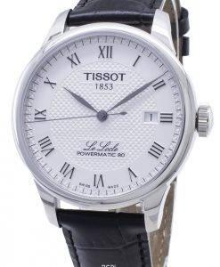 Tissot T-Classic Le Locle T006.407.16.033.00 T0064071603300 Montre Homme Powermatic 80 Automatic
