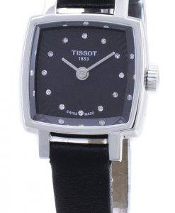Tissot T-Lady Lovely Square T058.109.16.056.00 T0581091605600 Montre à quartz pour femme