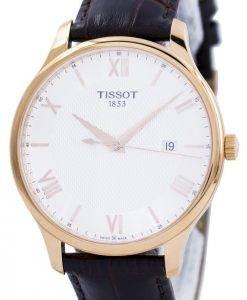 Tissot T-Classic Tradition Quartz T063.610.36.038.00 T0636103603800 Montre pour homme