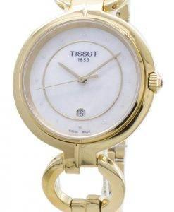 Tissot T-Lady Flamingo T094.210.33.116.00 T0942103311600 Montre à diamants pour femme