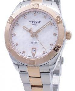 Tissot T-Classique PR100 T101.910.22.116.00 T1019102211600 Montre à diamants pour femme