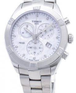 Tissot T-Classique PR 100 Sport Chic T101.917.11.116.00 T1019171111600 Montre Pour Femme Chronographe