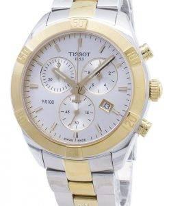Tissot T-Classic PR 100 Sport T101.917.22.031.00 T1019172203100 Montre chronographe pour femme