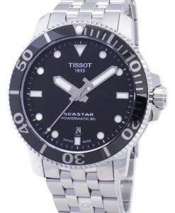 Tissot T-Sport Seastar T120.407.11.051.00 T1204071105100 Montre Homme Powermatic 80 300M