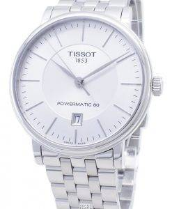 Tissot T-Classic Carson Premium Powermatic 80 T122.407.11.031.00 T1224071103100 Montre automatique pour homme