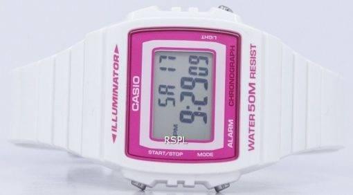 Casio Illuminator alarme chronographe montre unisexe numérique W-215H-7A2VDF W215H-7A2VDF