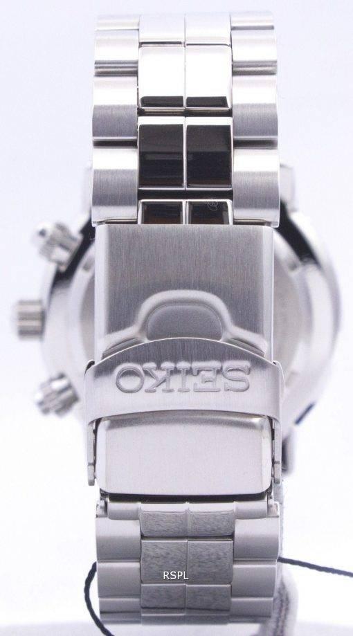 Montre de Seiko vol alarme chronographe SNA411P1 SNA411P SNA411 aviateur
