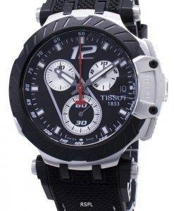 Tissot T-Race Montre Jorge Lorenzo T115.417.27.057.00 T1154172705700 pour homme, édition limitée, chronographe