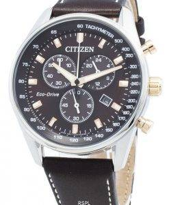 Citizen Eco-Drive AT2396-19X chronographe pour homme