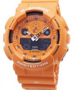 Montre Casio G-Shock GA-100RS-4A GA100RS-4A Chronographe Quartz 200M