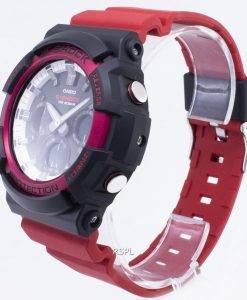 Montre Casio G-Shock GAS-100RB-1A GAS100RB-1A solaire 200M pour homme