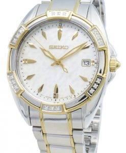 Montre pour femmes Seiko Classic SKK880P SKK880P1 SKK880 - Accents de diamants