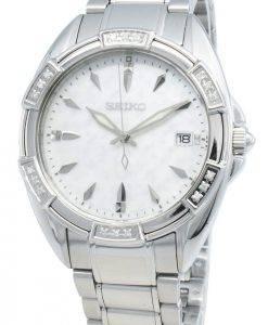 Montre pour femme Seiko Classic SKK883P SKK883P1 SKK883 - Accents de diamants
