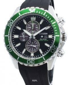 Montre pour homme Citizen Promaster Diver CA0715-03E Chronographe Eco-Drive 200M